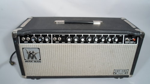 1979 MusicMan HD-130 Reverb Head