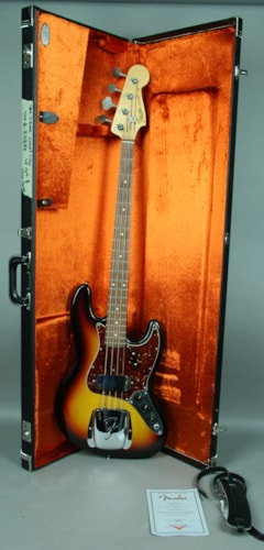 2008 Fender® 1964 Reissue Jazz Bass® Closet Classic Custom Shop