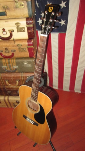 ~1975 Univox 00-18 Copy Small Bodied Acoustic