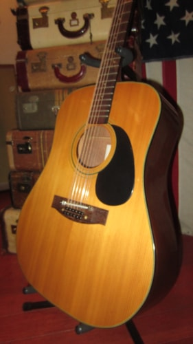 ~1974 MARTIN SIGMA DM 12-5 12 String Acoustic