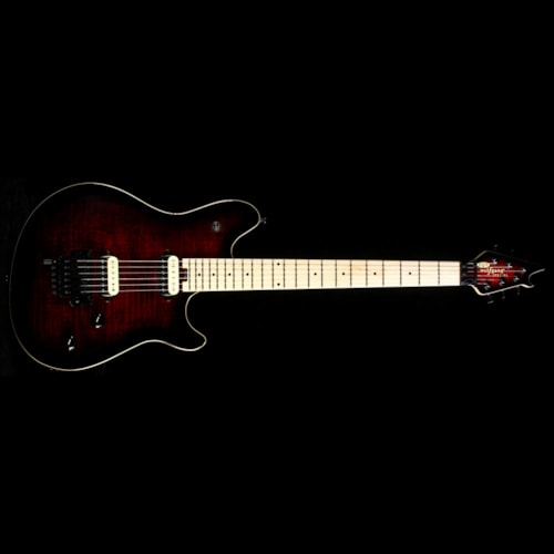 EVH Wolfgang Special Electric Guitar Black Cherry Burst