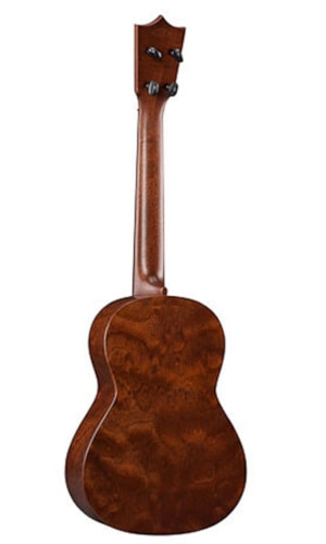 2016 Martin 1T IZ TENOR UKULELE & CASE, with FACTORY-INSTALLED PICKUP, ISRAEL KAMAKAWIWO'OLE COMMEMORATIVE MODEL