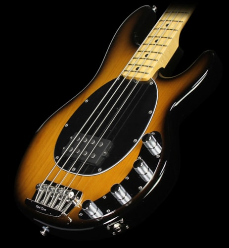 ERNIE BALL MUSIC MAN Premier Dealer StingRay Bass Guitar Tobacco Sunburst