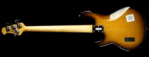 ERNIE BALL MUSIC MAN Used 2015 Ernie Ball Music Man Premier Dealer Network StingRay Electric Bass Vintage Tobacco Sunburst