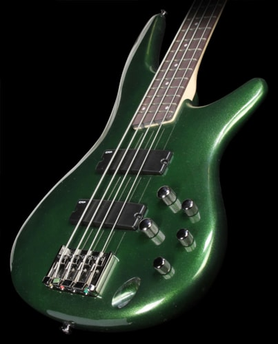 Ibanez Used Ibanez SR300 4-String Electric Bass Guitar Metallic Forest