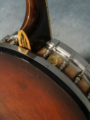 1931 Bacon & Day MEDALIST SILVER BELL TENOR BANJO