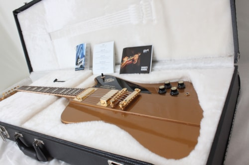2013 Gibson 50th Anniversary Firebird Bullion Gold w/case