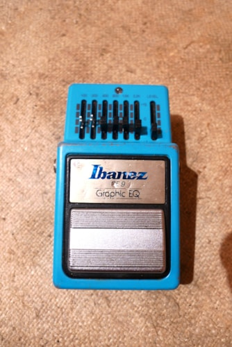 1983 Ibanez GE-9 Graphic Equalizer EQ