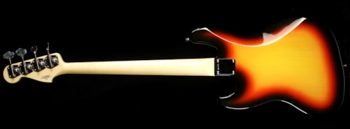 Fender® Custom Shop Used 2014 Fender® Custom Shop Time Machine™ '64 Jazz Bass® Electric Bass Guitar Three-Tone Sunburst