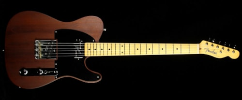 Fender® Used 2015 Fender® Limited Edition Reclaimed Redwood Hot Rod Telecaster® Electric Guitar Natural
