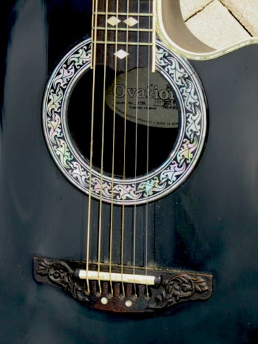 """1989 Ovation 1769 Legend Cutaway Electric """"Special Order"""""""
