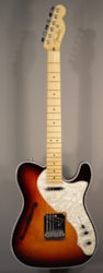 Fender Guitars USED! Americian Deluxe Telecaster Thinline With Case.