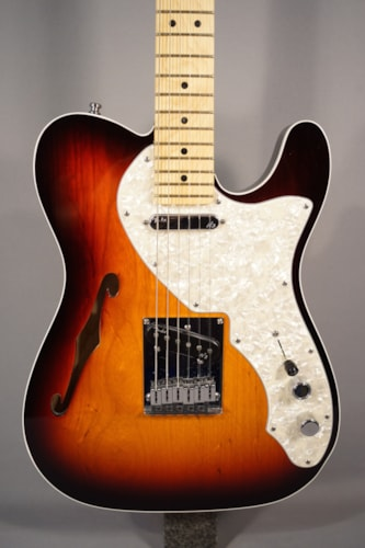 Fender® Guitars USED! Americian Deluxe Telecaster® Thinline With Case.