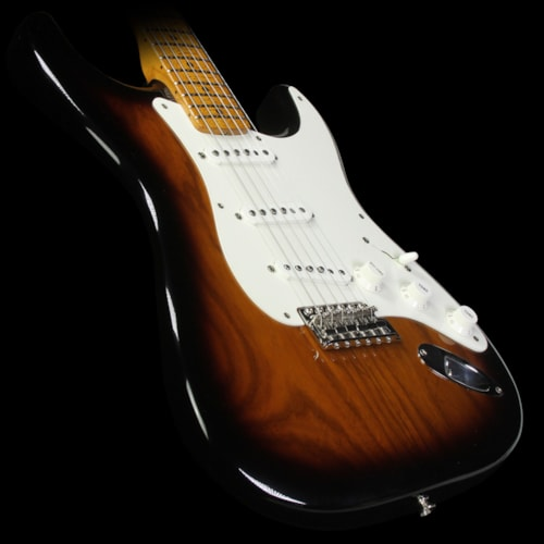 Fender® Custom Shop 1955 Roasted Ash Stratocaster® NOS Electric Guitar 2-Tone Sunburst