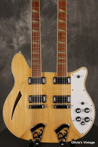 1979 Rickenbacker 362-12 Double Neck w/Checkerboard Binding