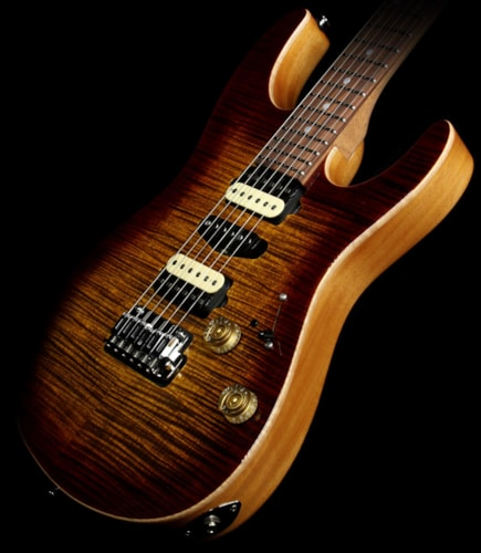 Suhr Modern Flame Maple Electric Guitar Bengal Burst
