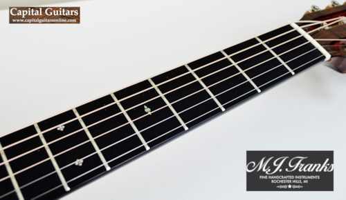 2010 MJ Franks 00-12 Fret Short Scale Adirondack/Brazilian