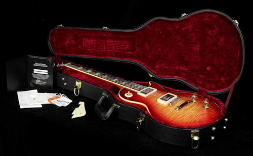 Gibson Custom Shop Used 2011 Gibson Custom Shop 1959 Les Paul Reissue Electric Guitar Crimson Burst