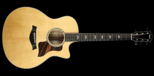 Taylor 616ce Grand Symphony Acoustic/Electric Guitar Brown Sugar Stain