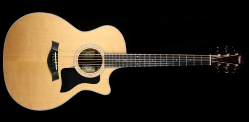 Taylor Used 2015 Taylor 314ce Limited Edition Indian Rosewood Acoustic-Electric Guitar Natural