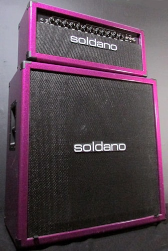 Soldano Lucky 13 Cover Amp Head & Cabinet