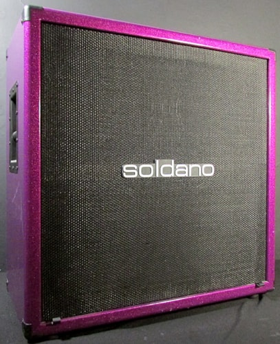 Soldano Lucky 13 Cover Amp Head & Cabinet Purple Sparkle > Amps ...
