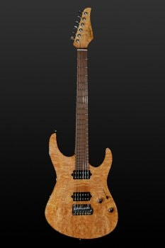 2015 Suhr Modern Waterfall Burl Maple