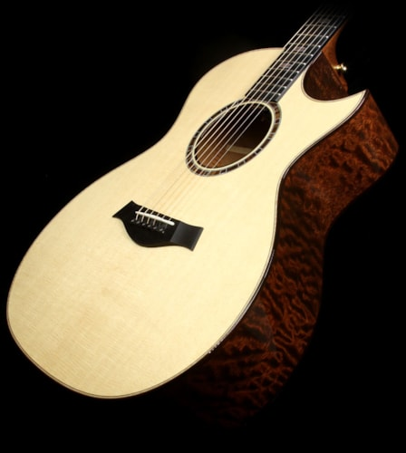 Taylor 514ce Limited Edition Quilted Sapele Grand Auditorium Acoustic-Electric Guitar Natural