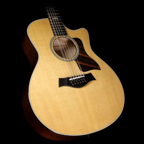 Taylor Used Taylor 656ce 12-String Grand Symphony Acoustic-Electric Guitar Brown Sugar Stain