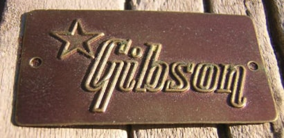 1959 Gibson Les Paul Case Tag
