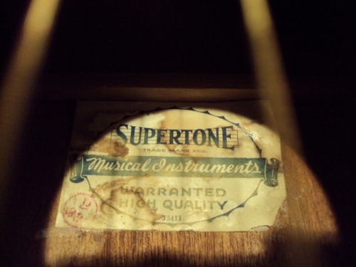 ~1925 Supertone Hawaiian Parlor