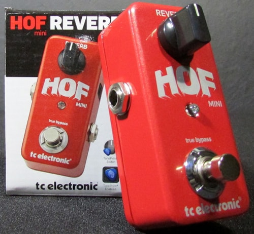 2015 TC Electronic HOF Mini Reverb
