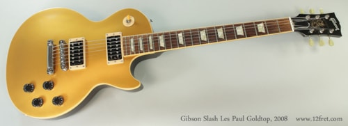 2008 Gibson Slash Les Paul Goldtop