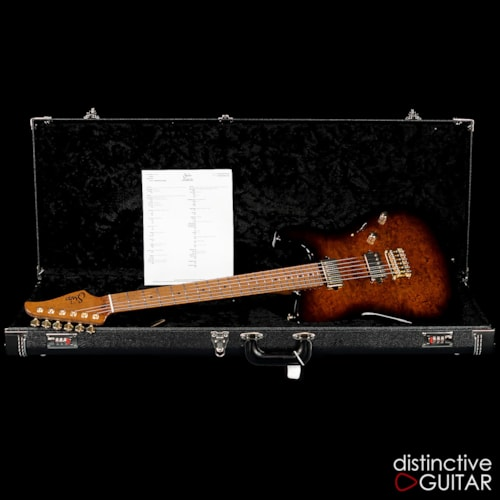 Suhr Custom Classic T Burl Maple