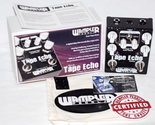 Wampler Faux Tape Echo - FREE ship cont USA!
