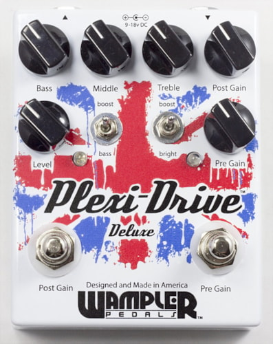 Wampler Plexi Drive Deluxe Overdrive Pedal - FREE ship cont USA!