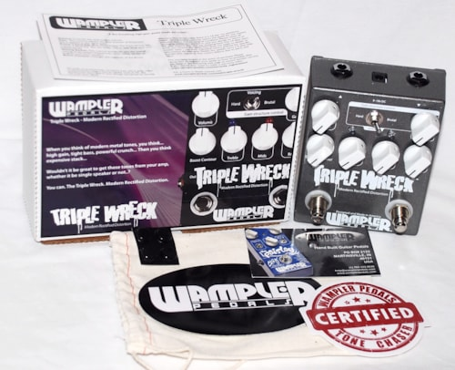 Wampler Triple Wreck Distortion Pedal - FREE ship cont USA!