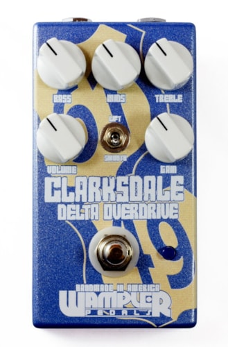 Wampler Clarksdale Overdrive Pedal - FREE ship cont USA!