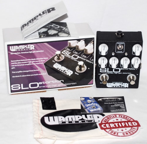 Wampler SLOstortion Overdrive Boost Pedal - FREE ship cont USA!