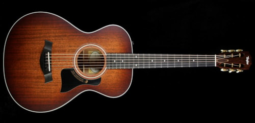 Taylor 2015 Limited Edition 322e Mahogany Top 12-Fret Grand Concert Acoustic-Electric Guitar Shaded Edgeburst