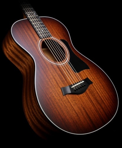 Taylor 322e Mahogany Top 12-Fret Grand Concert Acoustic-Electric Guitar Shaded Edgeburst