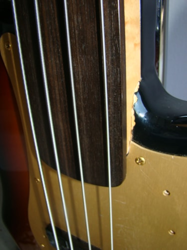 2014 Fender 57 RI Precision Bass Fretless (Japanese) (See Description)