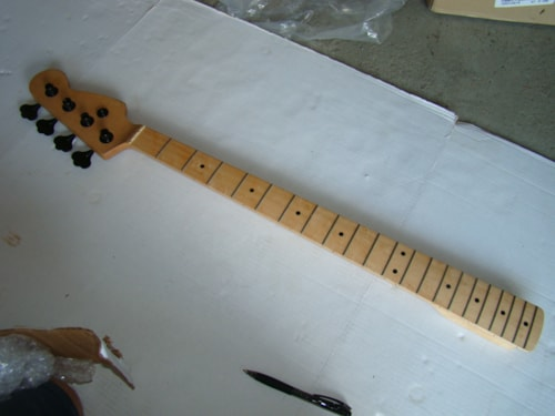 Warmouth Fretted Precision Bass® Neck