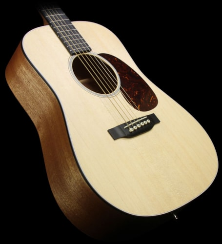 Martin Dreadnought Junior Acoustic-Electric Guitar Natural