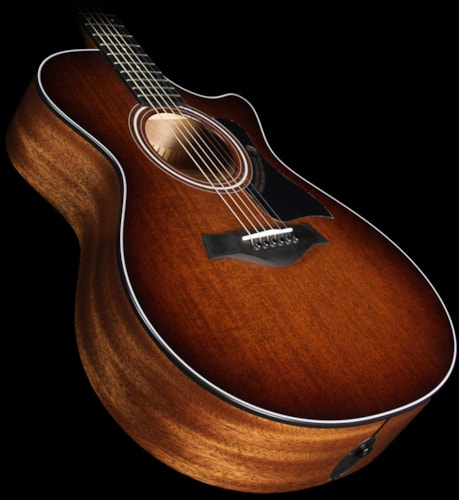 Taylor 2015 Limited Edition 322ce Mahogany Top Grand Concert Acoustic-Electric Guitar Shaded Edgeburst