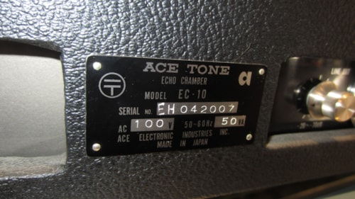 ~1975 Ace Tone EC-10 Professional Echo Analog Delay