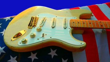 1996 Fender® Custom Shop 56 Mary Kaye Cunetto Relic® (1956 Reissue)