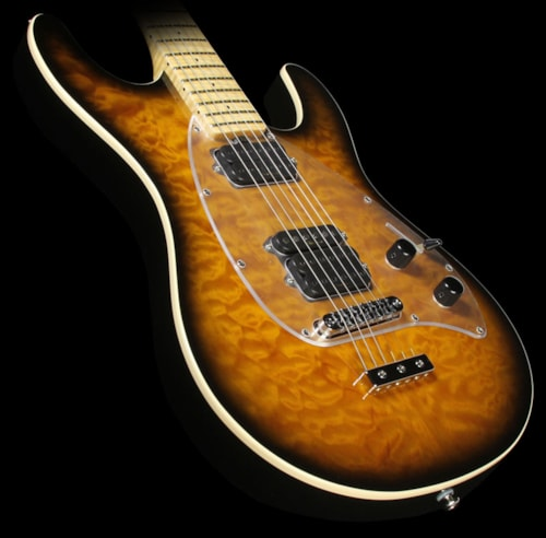 ERNIE BALL MUSIC MAN Premier Dealer Network Steve Morse Y2D Signature Electric Guitar Vintage Tobacco Sunburst