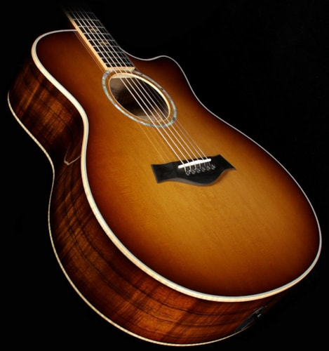 Taylor Used 2015 Taylor K16ce Limited Edition Grand Symphony Hawaiian Koa Acoustic-Electric Guitar Shaded Edgeburst