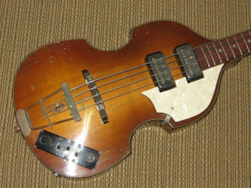 1960 HOFNER 500/1 (Beatles Bass)
